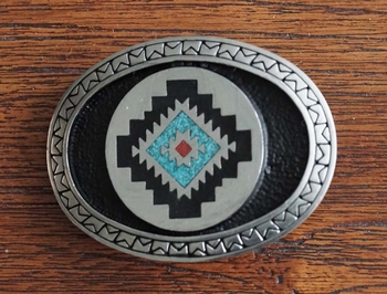 "Azteken buckle  "" Abstrad """