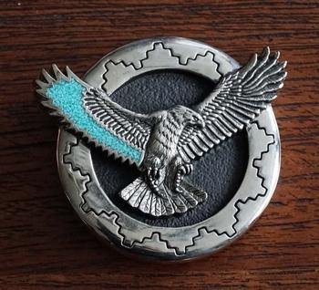 """Azteken buckle  """" Vliegende adelaar """""""