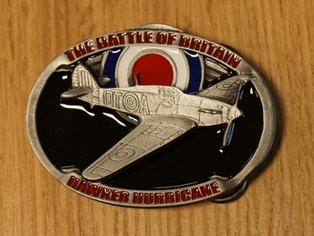 "Buckle "" The battle of Britain Hawker Hurricane """