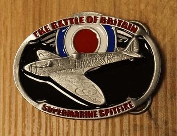 "Buckle "" The battle of Britain Supermarine Spitfire """