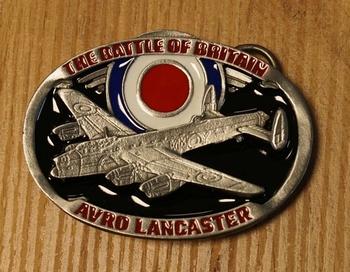 "Buckle "" The battle of Britain Avro Lancaster """