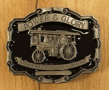 "Buckle "" Power & Glory steam rally commemorative """