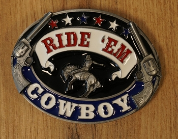 """Western buckle  """" How the west was won """""""