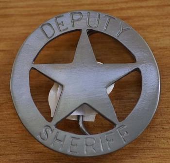 """Western buckle  """" Deputy ster  """""""