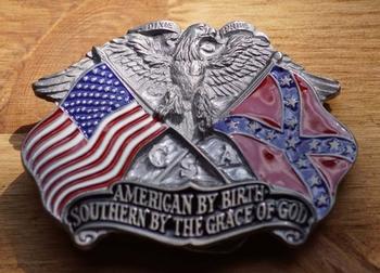 """Gesp """" Als Amerikaan geboren, Zuiderling door Godsgenade """""""