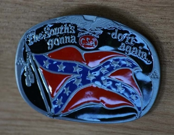 "Buckle / gesp  "" The south's gonna - do it again """