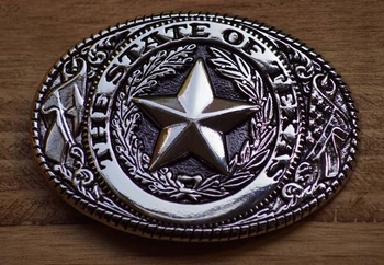 "Buckle / gesp  ""  The state of Texas """