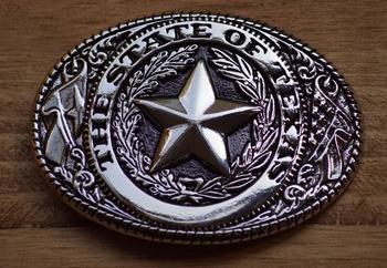 """Buckle / gesp  """"  The state of Texas """"  UITVERKOCHT"""