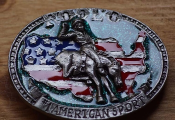 "Western buckle  "" Mustang breaking """