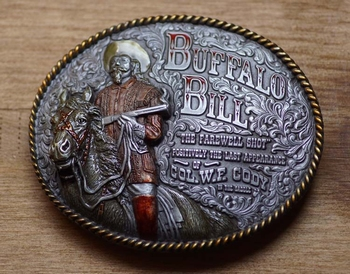 "Western buckle  "" Buffalo bill """