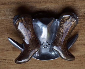 "Country Buckle  "" Laarsjes met hoed """