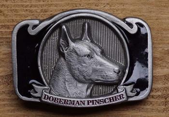 """Riem buckle """" Dobberman pinscher """""""