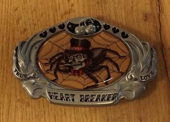 """Buckle  """" Heart breaker """"  spin"""