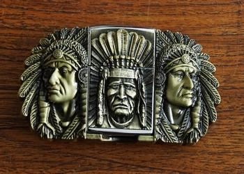 """Aansteker buckle """"  Amerikaanse vlag """""""