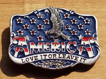 """Gesp  """" Amerika je houdt er van of je verlaat het """""""