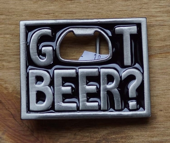 "Opener buckle  "" Got Beer """