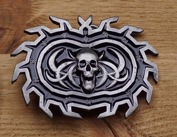 "Belt buckle   "" Schedel """