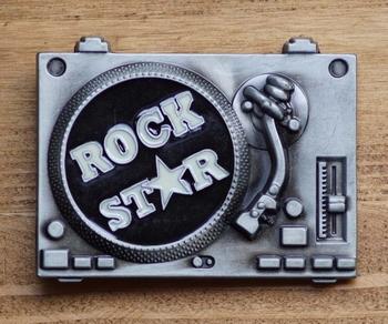 """Muziek gesp  """" Rock star """""""