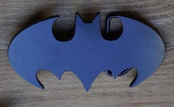 """Gesp buckle  """" Batman """"    Zwart"""