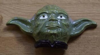 """Gesp buckle  """" Yoda  """"  Star Wars   UITVERKOCHT"""