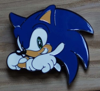 "Buckle  "" Sonic hedgehog """