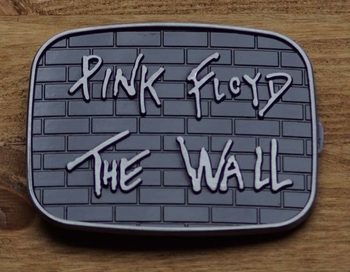 "Music belt buckle  "" Pink Floyd ""   The Wall"