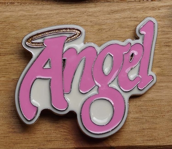 "Dames gesp  "" Angel """