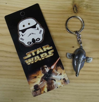 """Sleutelhanger """" Star Wars ruimteschip """" Naboo Royal Starship"""