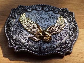 """Siergesp  """" Vliegende adelaar """"  Zilver- / goud  UITVERKOCHT"""