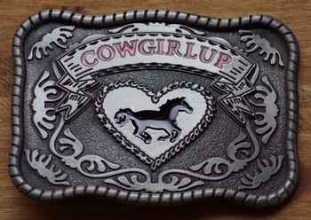 "Country Buckle  "" Cowgirl up """