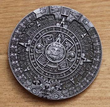 """Buckle / gesp  """" Aztec calender """""""