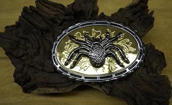 "Riem buckle  "" Spin ""  Zilver- / goudkleurig"