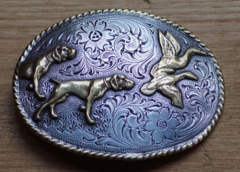 """Buckle """" Hunting dogs """""""