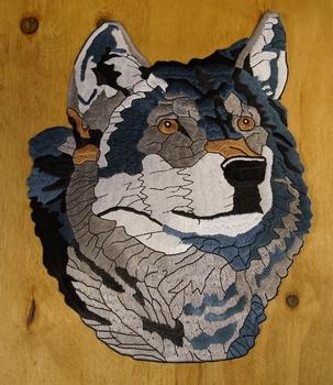 """Strijkapplicaties  """" Wolf """""""