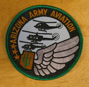 "Applicaties  "" Arizona army Aviation """