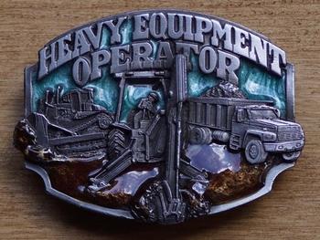 "Losse gesp  "" Heavy equipment operator ""  ( Bouwvakker )"