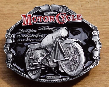 "Motor cylce buckle  "" Douglas Dragenfly """
