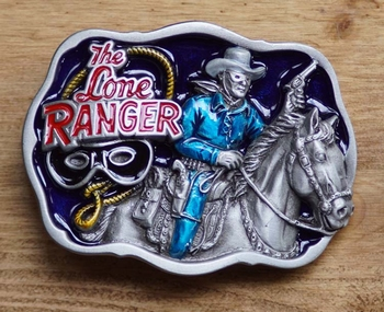 "Wild west buckle  "" The  lone ranger """