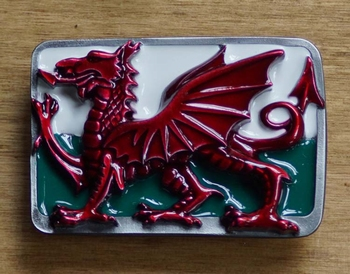 "Gesp buckle  "" Wales dragon """