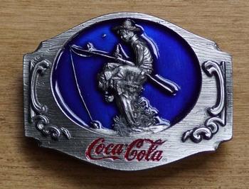 "Buckle / gesp  "" Coca cola ""   Visser"