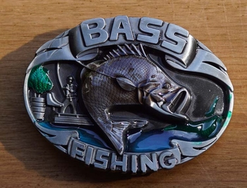 "Sport gesp  "" Bass Fishing """