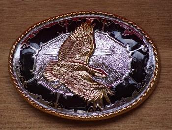 "Siergesp "" Vliegende adelaar ""  Zilver / goud"