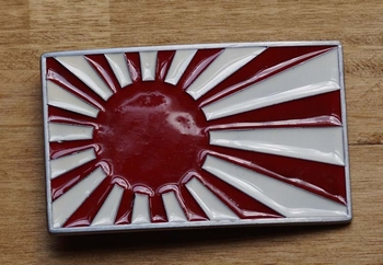 "Gesp buckle  "" Vlag Japan """