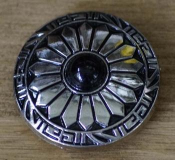 """Concho  """" Western styl met zwarte steen  """""""