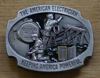 "Gesp "" The american electrician, keeping america powerful"""