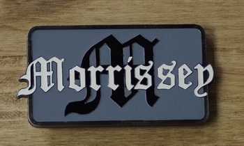 "Music buckle  "" Morrissey """