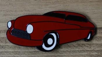 "Buckle / gesp  "" Rode auto """