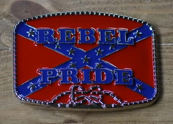 "Buckle / gesp  "" Rebel Pride """