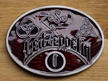 "Music band buckle  "" Led Zeppelin """