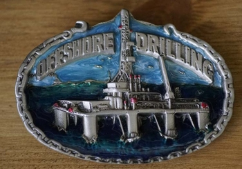 """Losse gesp  """" Offshore Drilling """"  Booreiland"""